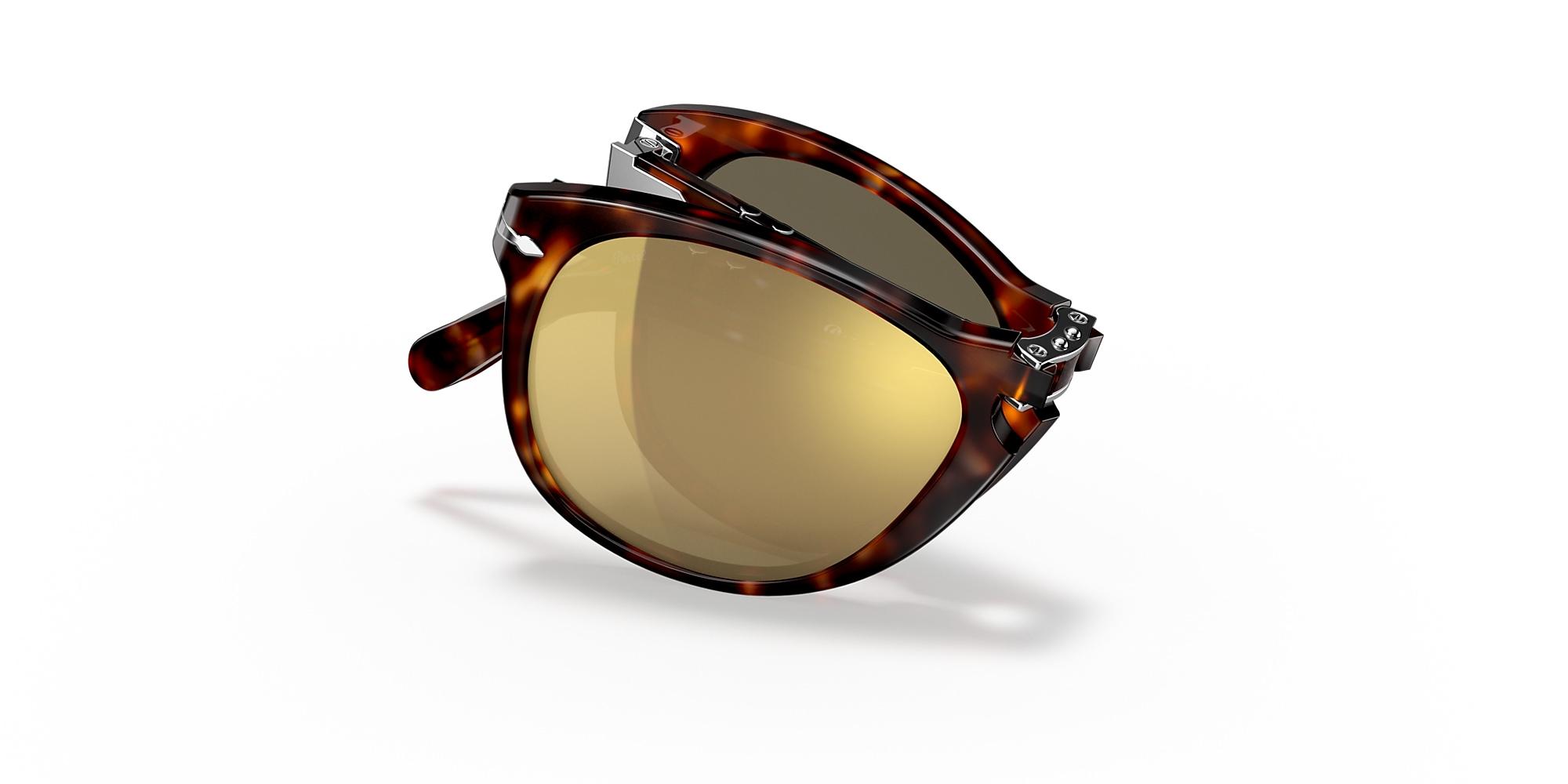 PERSOL Steve McQueen 714SM Sunglasses in Light Havana