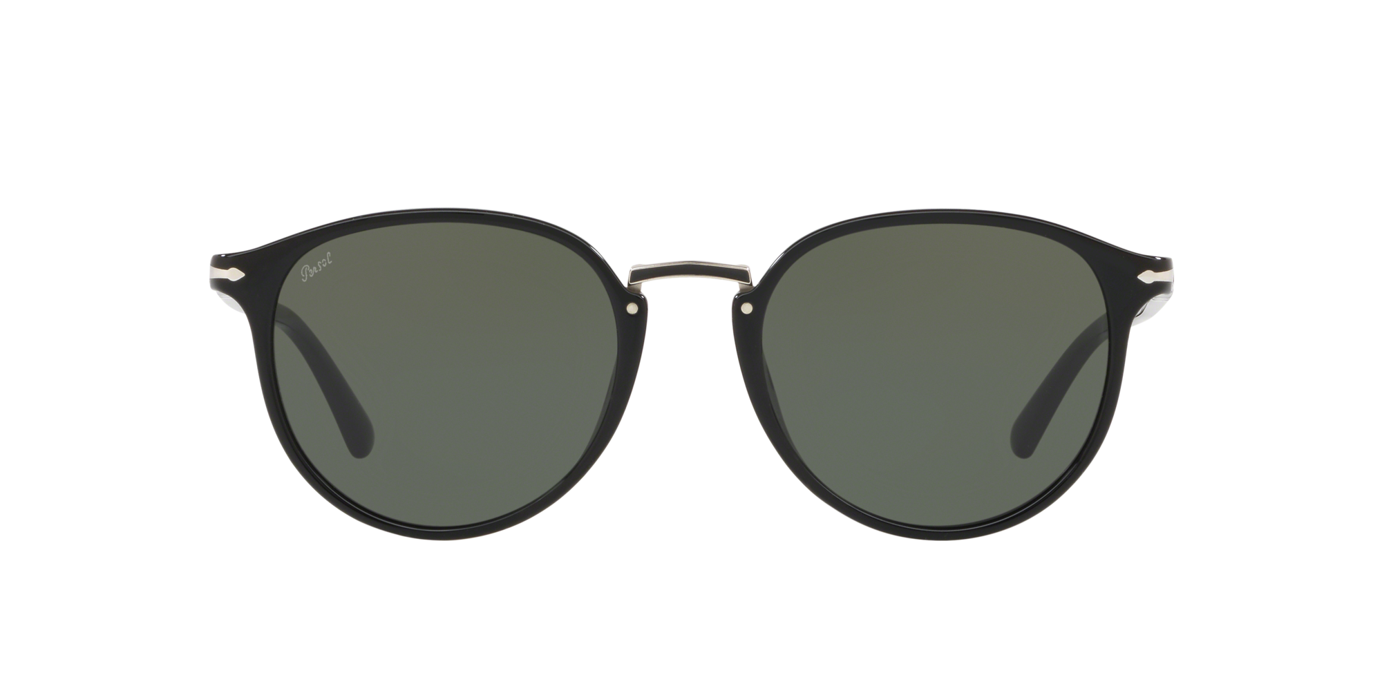 Italy Persol Typewriter Edition Men/'s Rounded Sunglasses PO3210S 106151